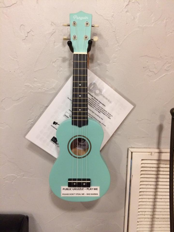 Uke to be raffled